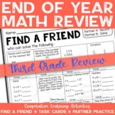3rd Grade End of Year Math Review Activities