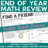 4th Grade End of Year Math Review Activities