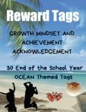 End of the School Year Ocean Brag Tags