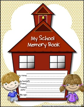 End of the School Year Preschool Memory and Activity Book