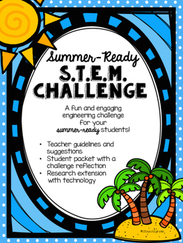 """End of the School Year STEM Challenge- Construct the """"Coolest"""" Cooler!"""