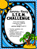 """End of the School Year STEM Challenge- Construct the """"Cool"""
