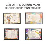 End of the School Year Self-Reflection Art Project