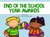 End of the School Year Student Awards {70 Awards}