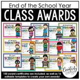 End of the School Year Student Awards