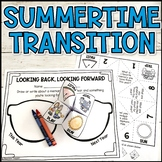 End of the School Year Summertime Counseling Activity