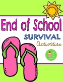 End of the School Year Survival Activities & Worksheets- G