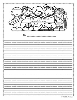 End of the School Year Writing Activity - FREEBIE