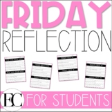 FRIDAY END OF THE WEEK: Student Reflection | Social Emotio