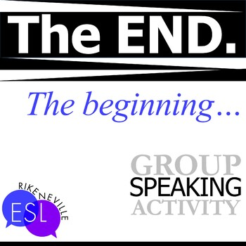 End of the World Communication Activity for ESL Students