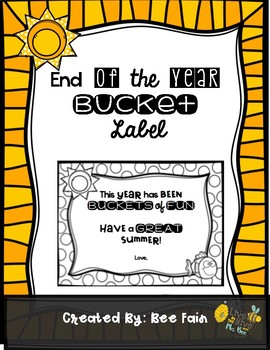 End of the YEAR Bucket Tag