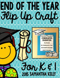 End of the Year Flip Up Craft