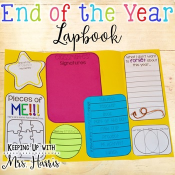 End of Year Lapbook