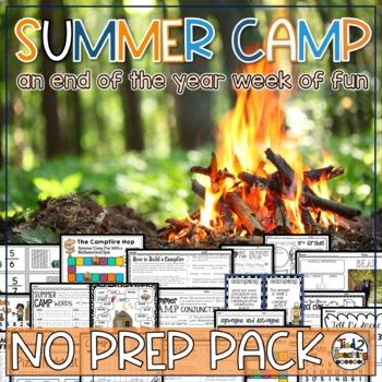 Summer Slide/Summer Bridge Activities - 3rd grade Math, ELA, Science and more!