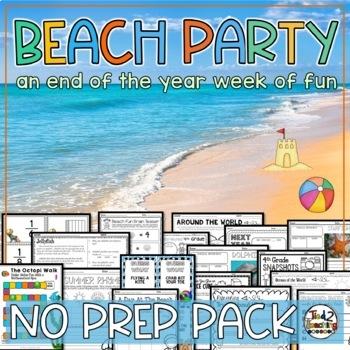 Summer Slide/Summer Bridge Activities - 4th grade Math, ELA, Science and more!