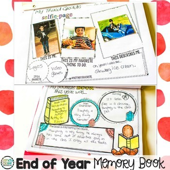 End of Year Memory Book No Prep Fun
