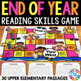 End of the Year Activity: End of the Year Reading Game