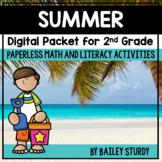 2nd Grade Summer Math and Literacy Digital Packet