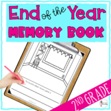 End of the Year 2nd Grade Memory Book