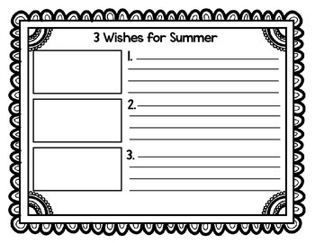 End of the Year: 3 Wishes for Summer
