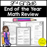 End of the Year 3rd Grade Math Review {3rd Grade Math Review}