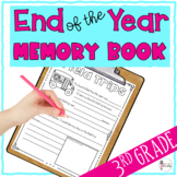End of the Year 3rd Grade Memory Book