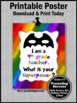 End of the Year 9th Grade Teacher Appreciation Thank You Gift Superpower Sign