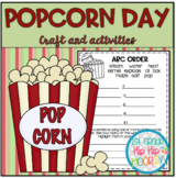 Popcorn Day...Perfect for End of the Year Fun or Class Behavior Reward!