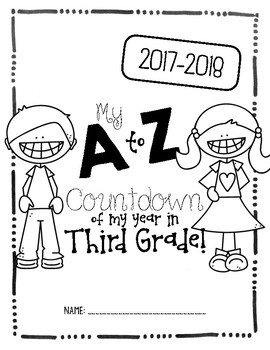 End of the Year A to Z Countdown Journal!
