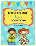 End of the Year ABC Countdown Book