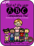 {End of the Year ABC Countdown} REFLECTION SHEETS & ACTIVITIES {Themed Days}