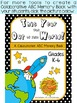 End of the Year ABC Memory Book FREE Graphic Organizer