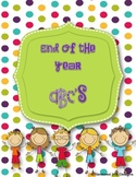 End of the Year ABC's