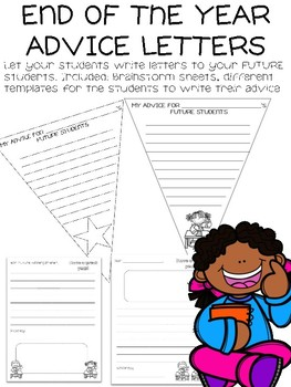 End of the Year ADVICE Letters
