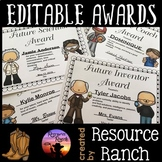 End of the Year Awards | Editable Awards | Student Awards