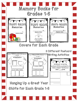End of the Year Activities- Memory Books, Awards, and More