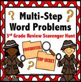 3rd Grade Word Problems Math Activity {3.OA.8}