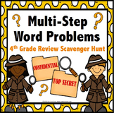 4th Grade Math Review: 4th Grade Word Problems