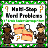 5th Grade Math Review: 5th Grade Word Problems