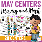 End of the Year Literacy and Math Centers