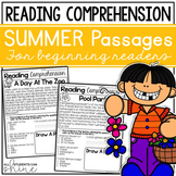 Reading Comprehension Passages ~ Summer Stories