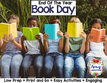 End of the Year Activities Book Day
