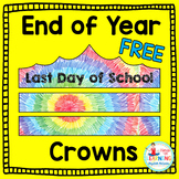 Free End of the Year Crowns