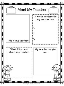 End of the Year Activities: Reflection & Writing (Grades K-3)