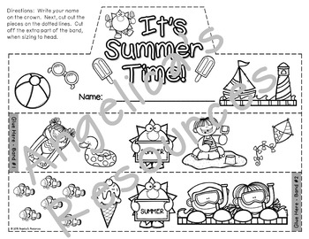 End of the Year Activities : Crowns and Wristbands - End of the Year Craft