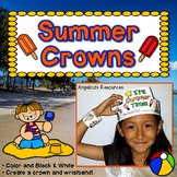 End of the Year Activities : Crowns and Wristbands - End o