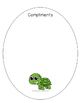 End of the Year Activities - Turtle Compliments