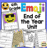 End of the Year Activities: 4th Grade Emoji Themed End of the Year Unit