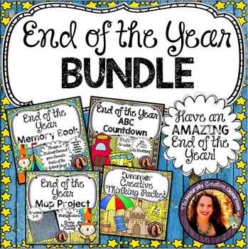 End of the Year Activity Bundle:4 End of the Year Activities for End of the Year