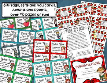 End of the Year Activities Bundle (Choice Board, Banner, Gift Tags and more!)